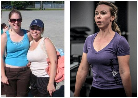 Coquitlam client recommending personal training services